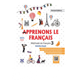 New Saraswati Textbook of French Apprenons Le Francais Part 3