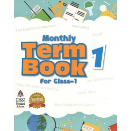 S Chand Monthly Term Book 1 for Class 1