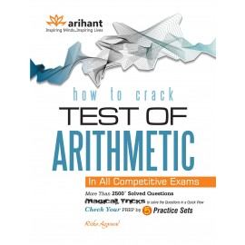 Arihant Study Guide How to Crack Test of Arithmetic by Richa Agarwal