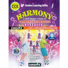 Cordova Harmony Communicative English (Work Book) for Class 8