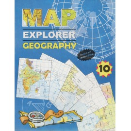 Lakshya Map Explorer Geography for Class 10