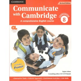 Communicate with Cambridge English Coursebook for Class 8