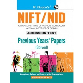 RPH NIFT: Previous Years' Papers (Solved) (R-1839) - 2021