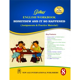 Golden (New Age) Workbook of English for Class 8 by S Gupta