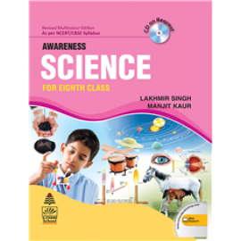 S Chand Awareness Science for Class 8 by Lakhmir Singh & Manjit Kaur