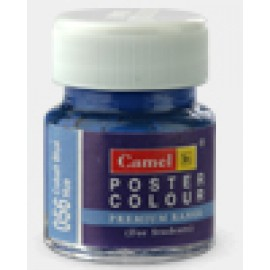 Camlin Kokuyo Premium Poster Colors 15 ml (Tint & Shades of Blue Color)