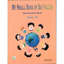 Three Leaves My Small Book of Big Values for Class 7 (Textbook of Value Education)
