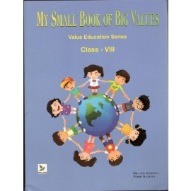 Three Leaves My Small Book of Big Values for Class 8 (Textbook of Value Education)
