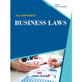 Sultan Chand CBSE Business Laws by ND Kapoor