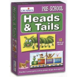 Creative Educational Aids Early Years - Heads & Tails (0780)