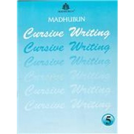 Madhubun Cursive Writing Workbook for Class 5