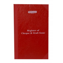 Writeaway Register of Cheque and Draft Issue Register Hard Bound (Pages-200)