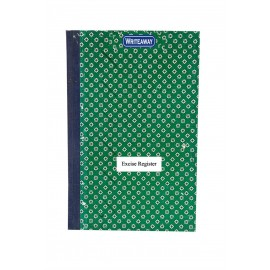 Writeaway Register of Excise Daily Stock Account Form R.G. 1 Rules 53 & 173G  Pages-118 Hard Bound Annexure X