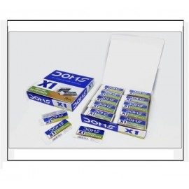 Doms X1 Extra Long Dust Free Eraser (Pack of 20 Pcs)