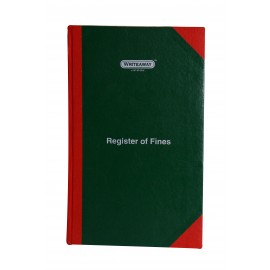 Writeaway Register of Fines Hard Bound (Pages-96)