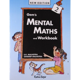 RatnaSagar Gem's Mental Maths & Work Book 2 by SK Malhotra