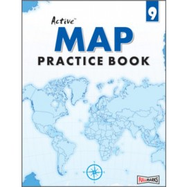 Full Circle Active Map Practice Book for Class 9 by Subhash Mehra