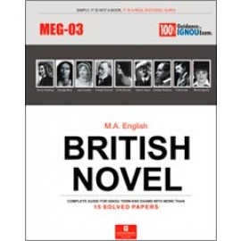 Straight Forward IGNOU M.A. English - British Novel 1st Year (MEG-03)