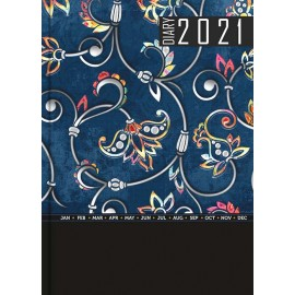 Matrikas New Year Diary 2021 Metallic A5-SD-D - Hard Bound (148X205 mm)
