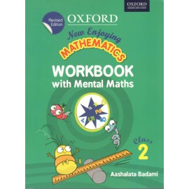 Oxford New Enjoying Mathematics (Workbook with Mental Maths) for Class 2