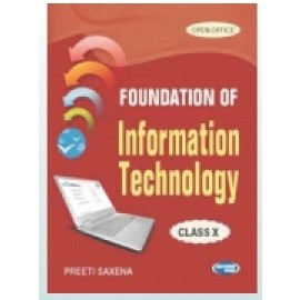 SK Kataria & Sons Foundation of Information Technology for Class 10 by Preeti Saxena