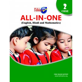 Full Marks All In One (English, Hindi, Mathematics, EVS) for Class 2