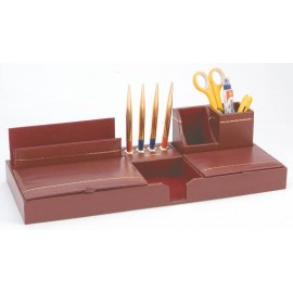 "Kebica Pen Stand Leather (604M) - 17"" X 4"""