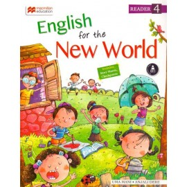 Macmillan English For the New World  for Class 4 by Anjali Dere