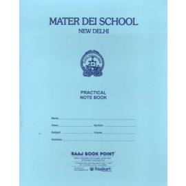 Mater Dei School Practical Notebook Physics (Thick) - 240 Pages
