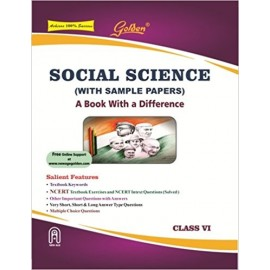 Golden (New Age) Guide of Social Science for Class 6 (2018)