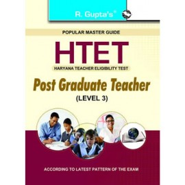 RPH HTET (Haryana Teacher Eligibility Test): Post Graduate Teacher (Level 3) Exam Guide (R-1593) 2020