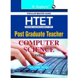 RPH HTET: PGT Computer Science (Level 3) Exam Guide (R-1661) 2020