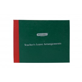 Writeaway Register of Teachers Leave Arrangements Hard Bound (Pages-100)