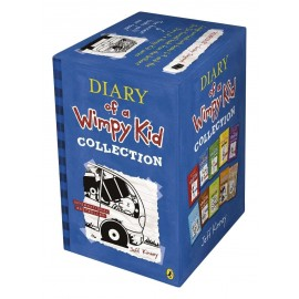 Diary of a Wimpy Kid 8 Books Slipcase by Jeff Kinney (Sets of 10 Books)