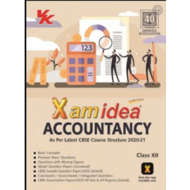 Exam idea Sample Papers of Accountancy for Class 12 English Medium (2021)