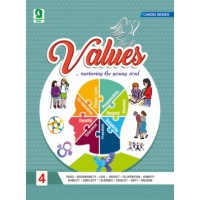 Evergreen Candid Values & Life Skills for Class 4