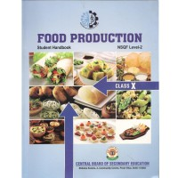 CBSE Food Production NSQF Level 2 Student Handbook Textbook Class 10 (With Binding)
