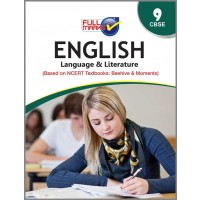 Full Marks Guide of English Language and Literature (Based on NCERT Textbooks: Beehive & Moments) for Class 9