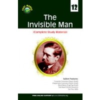 Full Marks 100% NCERT Solutions The Invisible Man (Complete Study Material) for Class 12