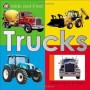 Slide and Find - Trucks Board Book by Priddy Books